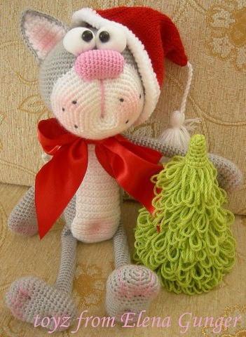 Вяжем игрушку Рождественский