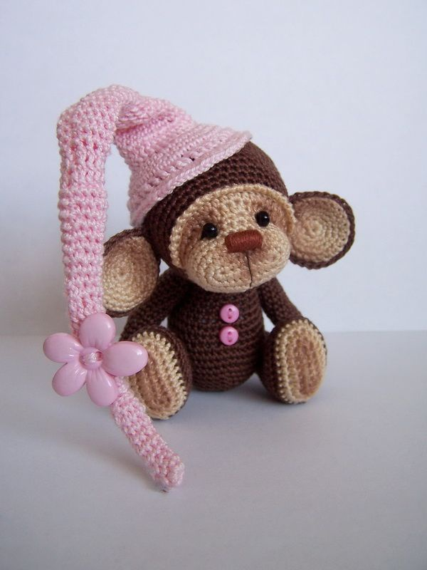 Вяжем обезьянку своими руками