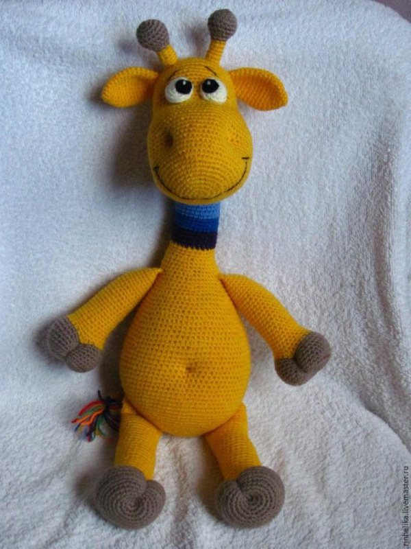 Мастер-класс: Радужный жираф