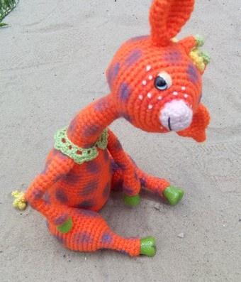 Вяжем крючком жирафа Оксаны