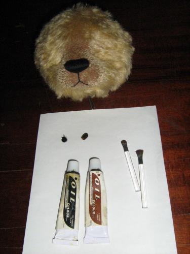 Мишкина шкурка (ткань-основа)
