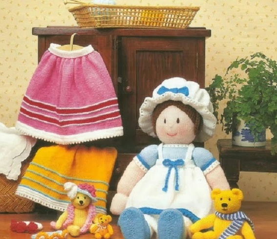 Вязание куколки спицами