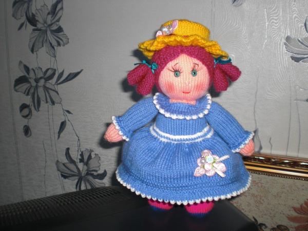 Вяжем игрушку спицами Анабель и Эдвард ОТ Jean Greenhowe