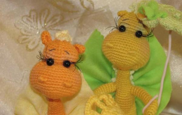 вязаный крючком дракончик вязание игрушек Prohobbysu вязание