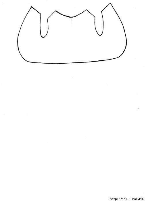 Вязаный мишка с пуговичным креплением лап