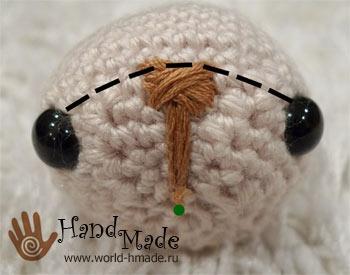 Вяжем зайчика - амигуруми крючком