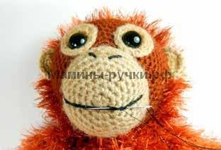 Вяжем крючком обезьянку - Орангутанга-Орвела