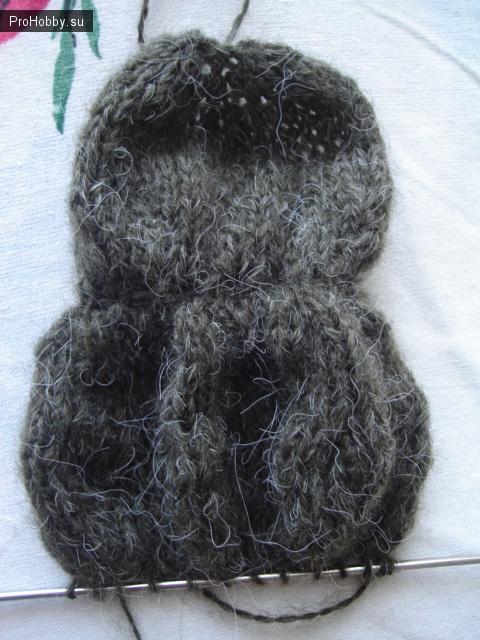 Вяжем спицами кота-бегемота