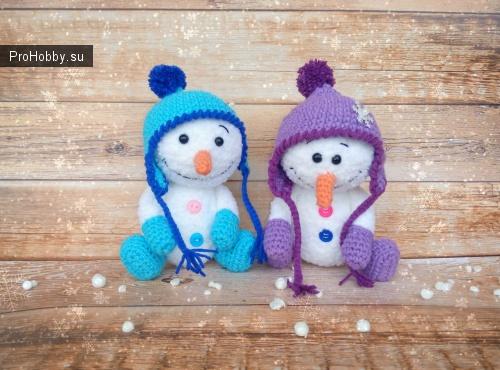 Очаровательные снеговики