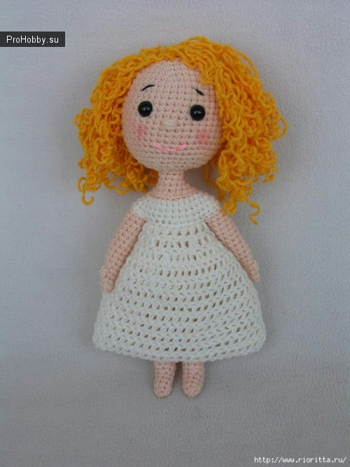 Вязаная кукла от NadinaN