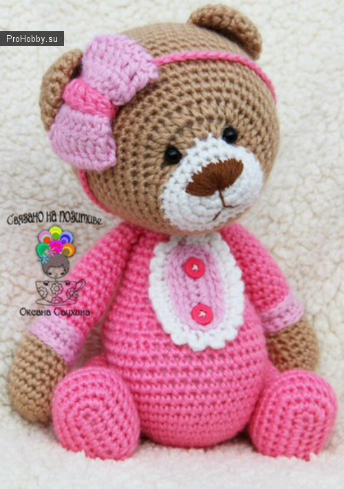 Мишка крючком / Вязание игрушек / ProHobby.su | Вязание ...
