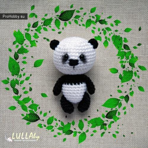Малыш Панда крючком