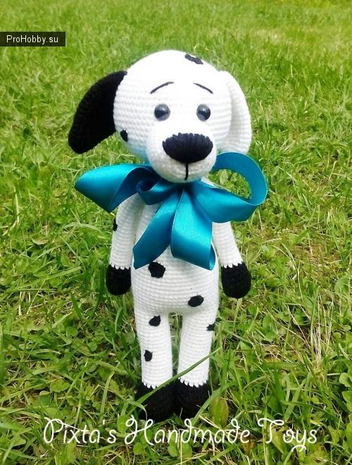 Пёс-модник от Людмилы Першиной