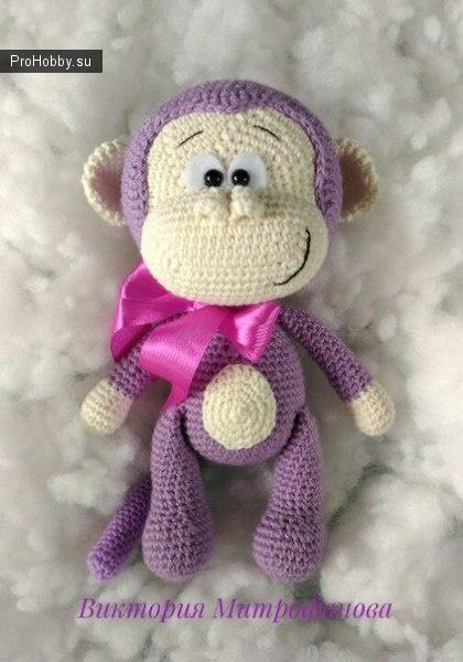 Милая обезьянка Виктории Митрофановой