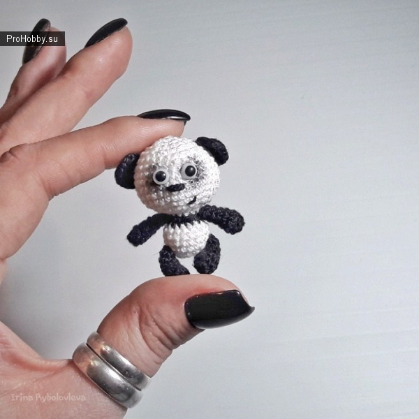 Панда крючком от Ирины Рыболовлевой