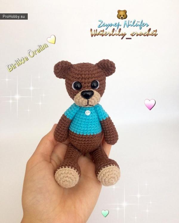 Маленький медведь своими руками