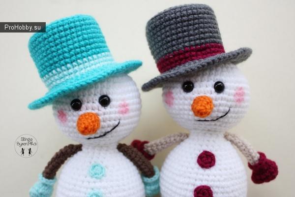 Цилиндр для снеговиков
