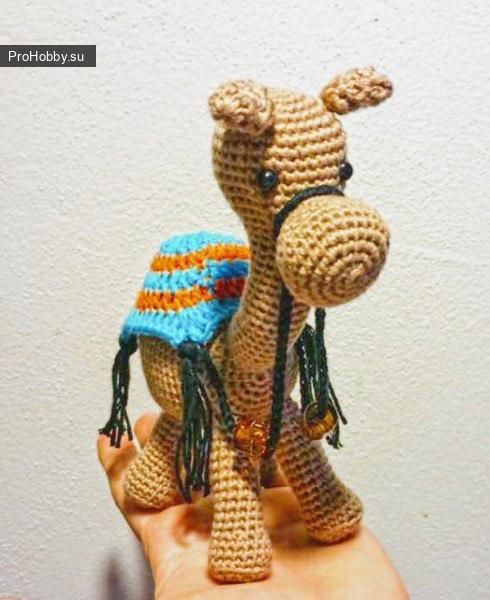 Верблюд крючком