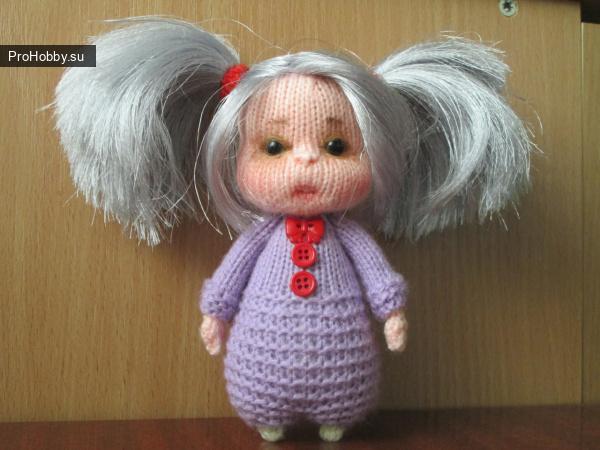 Кукла Малышка спицами