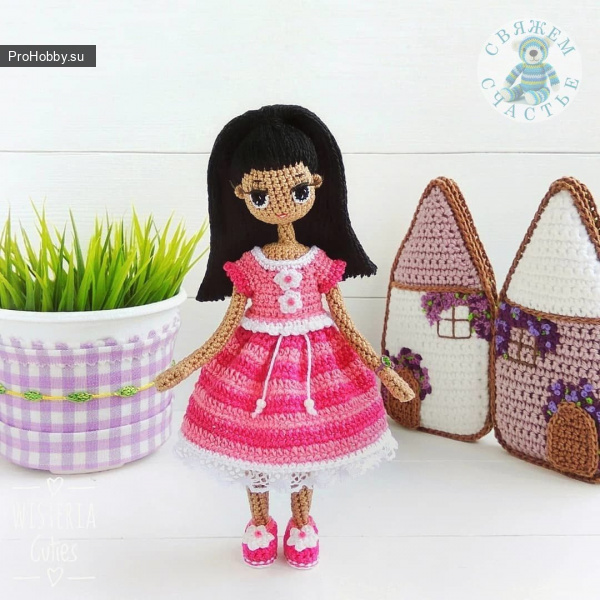 Платья крючком для кукол