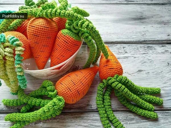 Морковка крючком