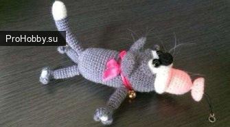 Котик-брелочек «Жадюга»