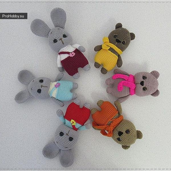 Зайчик-Мишка