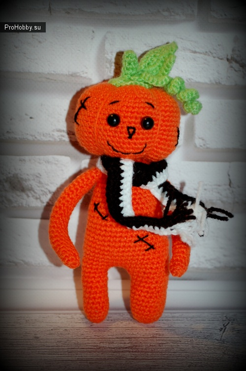 Тыквы крючком, Happy Halloween