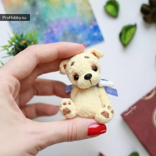 Маленький щенок Анастасии Кирсановой